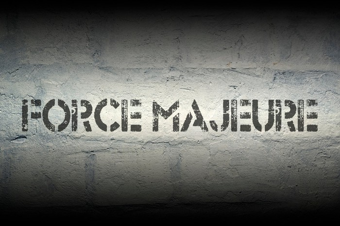 Check your contracts for Force Majeure clauses